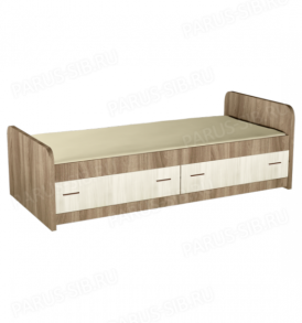 Кровать «Сон-Sleep» (венге/дуб)