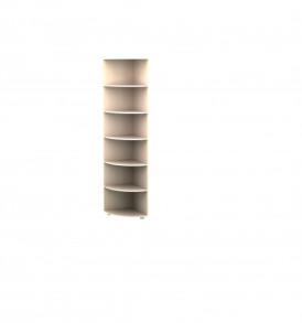 Стеллаж  угловой (венге)
