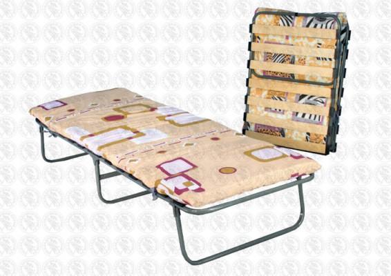 КТР-2ЛП Раскладная кровать ОТДЫХ с ортопедическим основанием и холконовым матрасом