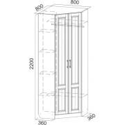 Прованс шкаф углов-520x520сх