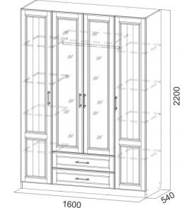 прованс шкаф 4x-520x520сх
