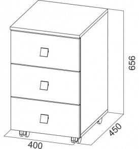 Модульная система «Сити 1″ (тумба выкатная)
