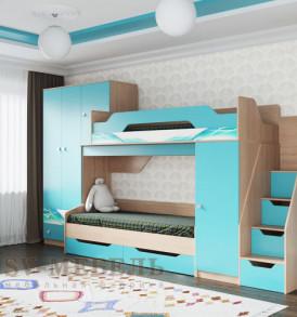 Детская «Сити 1″ (шкаф верхний)