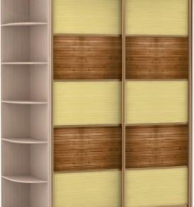 2-х дв,корпус Дуб мол,двери бамбук 23750