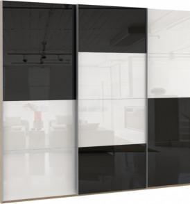 Шкаф купе 3 двер. «Эста»12 зеркал