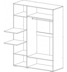 Модульная система   «Нэнси» Шкаф 3-х створчатый