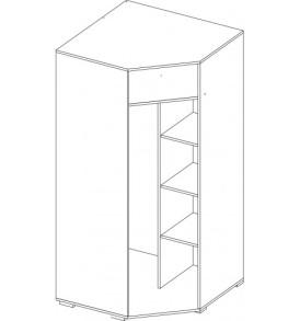 Спальня  «Вегас»- шкаф угловой