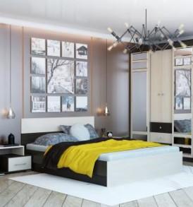 Кровать «Юнона» Комби 1.40м (без основания под матрас)