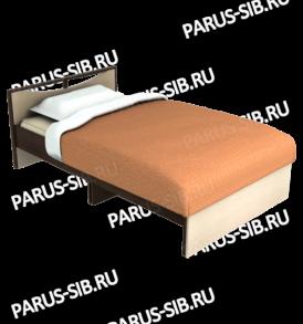 Кровать «Соло» -1200 без ящиков (шимо т/св)