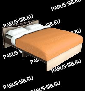 Кровать «Соло» -1600 без ящиков (ольха)