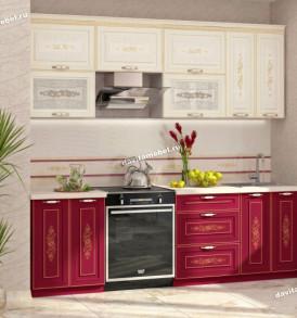 Кухня Виктория шкаф над вытяжкой с нишей  20.13