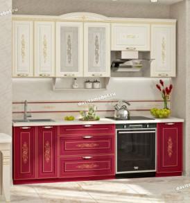 Кухня Виктория шкаф-витрина лев/прав 20.04