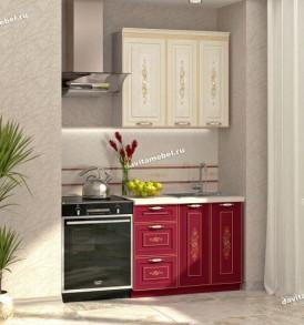 Кухня Виктория шкаф-витрина с ситемой плавн. закр. 20.81