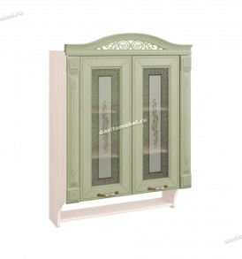 72.15 шкаф витрина с колоннами