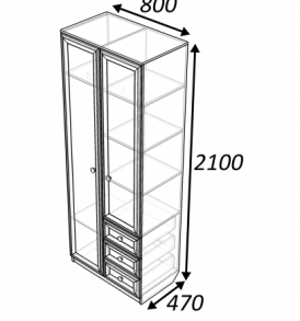 Шкаф  «Классика»  2.3