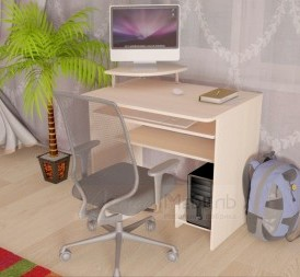 Стол Компьютерный «Ск-8″ (ит.орех)