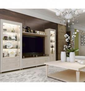 М/С «Калипсо 2″ шкаф для посуды (туя светлая)