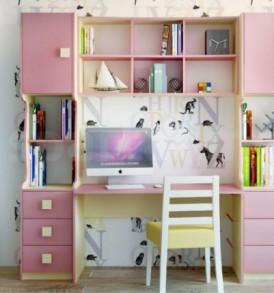 Детская «Радуга» Кровать -2этаж