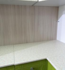 Кухня угловая «Сити» 1.00*1.140( ваниль- олива)- модульная