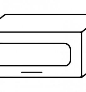 Кухня «Агава»МДФ  Газовка-600( лиственница светлая или темная)- модульная