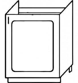 Кухня «Агава»МДФ лиственница светлая/темная- модульная Стол М-500