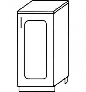 Кухня «Агава»МДФ  Стол Н 300 ( лиственница светлая или темная) — модульная