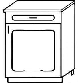 Кухня «Агава»МДФ лиственница светлая/темная- модульная Стол Н500-1я