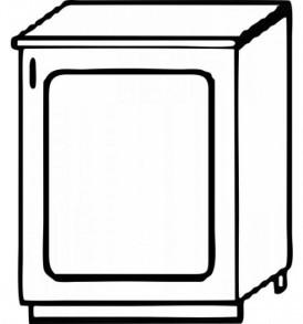 Кухня «Агава»МДФ лиственница светлая/темная- модульная Стол Н 500