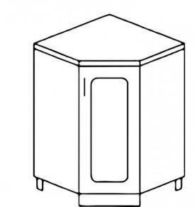Кухня «Агава»МДФ лиственница светлая/темная- модульная НУ850