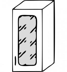 Кухня «Агава»МДФ лиственница светлая/темная- модульная Шкаф ВС-300