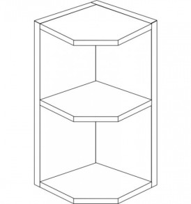 Кухня «Агава»МДФ  Шкаф ВТ-285 ( лиственница светлая или темная) — модульная