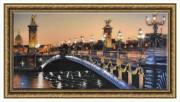 Картина Александровский мост 50-100 14980 р