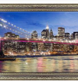 Картина Бруклинский мост 70-138 17950 р