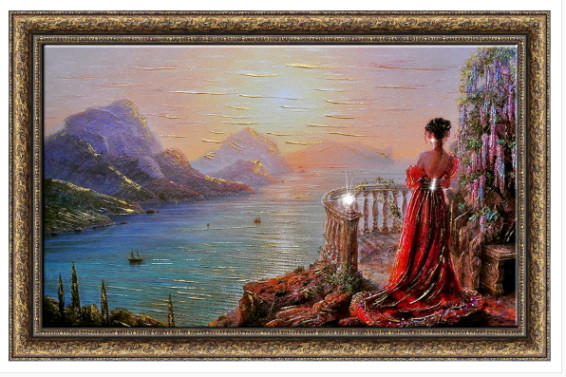 Картина На утренней заре 60-100 17950 р
