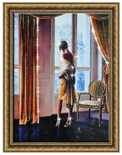 Картина Парижанка 60-80 13980р