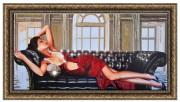 Картина Женщина в красном 50-100 14970 р