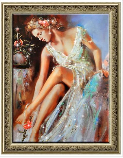 Картина Женщина весна 60-90 13950 р