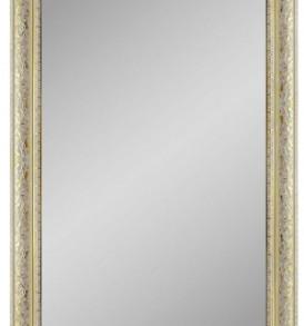 Зеркало в багете 50-150 7490р бел.золото