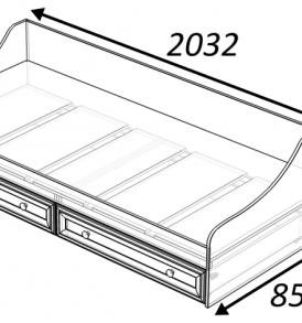 Модульная система  «Классика» Кровать детская
