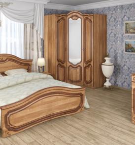 Шкаф  3 х дверный» Орхидея»( ольха)