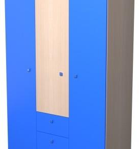 Модульная система «Радуга»шкаф-3.3.1 (шимо св./лайм)