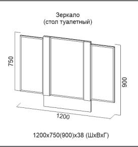 Модульная система» Гамма-20″ Боковые зеркала подвижные