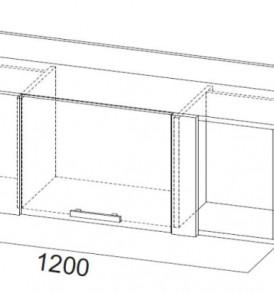Модульная система» Гамма-20″ Полка навесная 1200