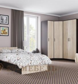 Спальня  «Эдем-5″ Кровать двойная  1,60