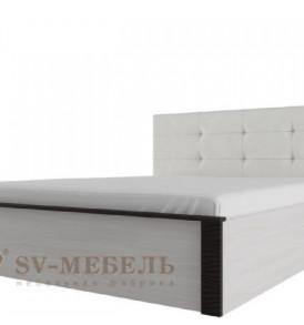 Модульная система» Гамма-20″ Кровать двойная универсальная 1,40 с мягким изголовьем