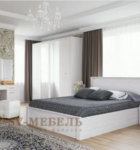 Модульная система» Гамма-20″ Кровать двойная  универсальная 1,80м