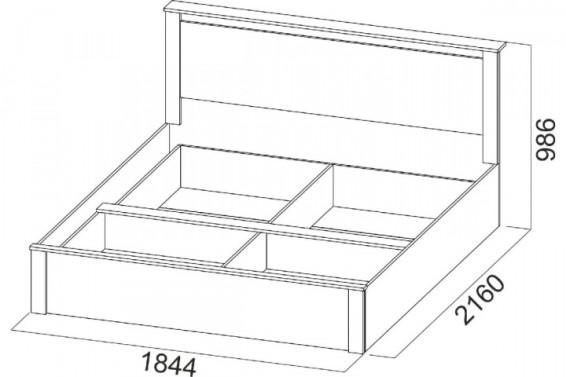 Кровать 18-1200x800