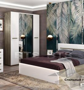 Модульная система «Наоми» Кровать 1,6м