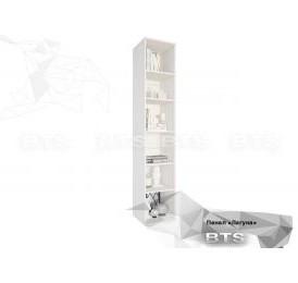 Модульная система «Лагуна»пенал (ясень белый/серебро)