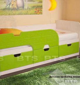 Детская кровать «Минима с ящиками 1,86″